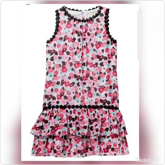 7d8f0d717 kate spade Dresses | Big Girl Blooming Floral Dress | Poshmark